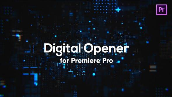 Thumbnail for Ouvre-technologie numérique pour Premiere Pro