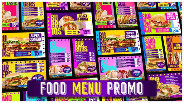 Thumbnail for Food Menu Restaurant Promotion