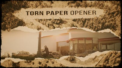 Torn Paper Opener