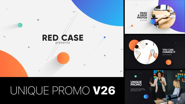 Thumbnail for Unique Promo v26 | Corporate Presentation