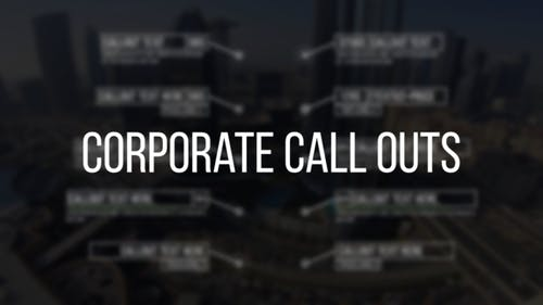 Corporate Call Outs