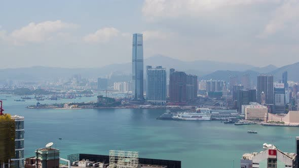Thumbnail for Hong Kong Aerial Skyline