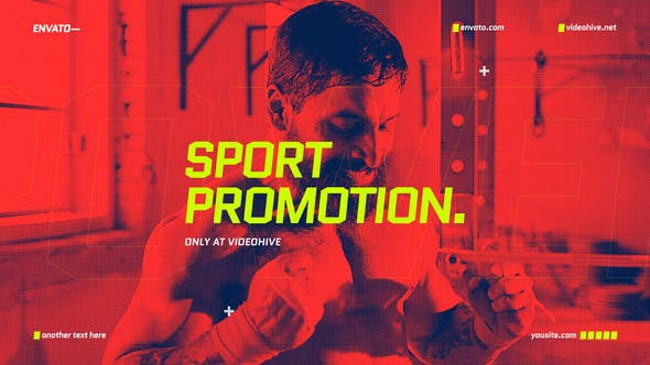 Thumbnail for Sport Opener / Event Promo / Fitness and Workout / Dynamic Typography