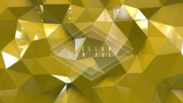 Thumbnail for Yellow Low Poly With Glass