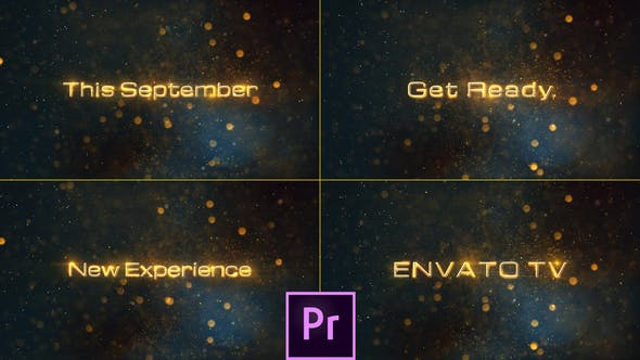 Thumbnail for Cinematic Teaser Promo Titles - Premiere Pro