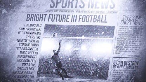 Newspaper Freeze Promo