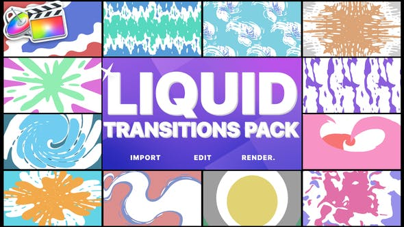 Liquid Transitions Pack | FCPX