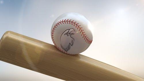 Baseball Logo On Ball