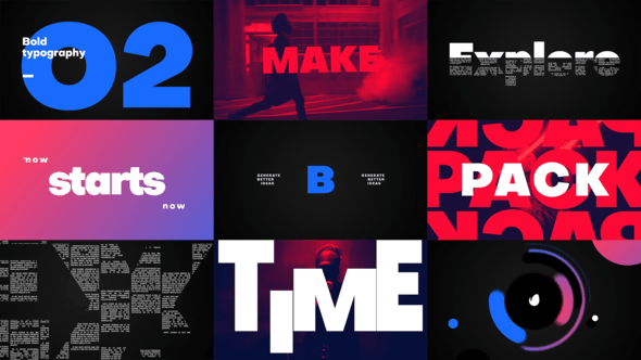 Thumbnail for Big Titles -Typography