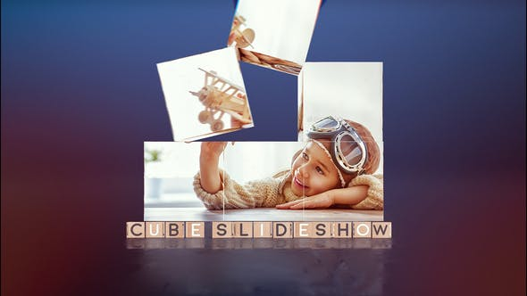 Thumbnail for Cube Slideshow | After Effects Template