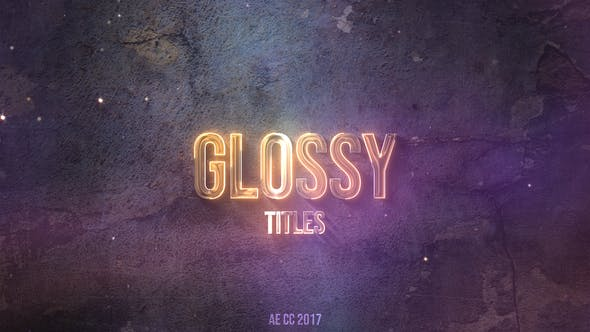 Thumbnail for Glossy Neon Titles