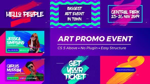 Thumbnail for Art Promo Event