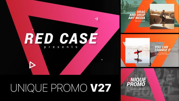 Thumbnail for Unique Promo v27 | Corporate Presentation