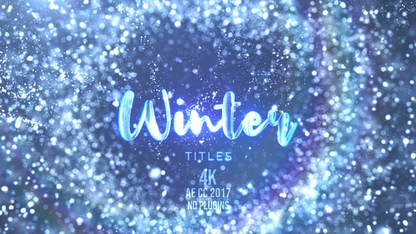 Thumbnail for Winter Snow Titles