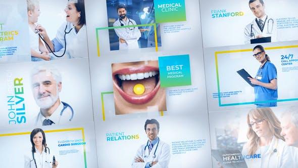 Thumbnail for Medicals - Presentación de diapositivas Medicine Healthcare