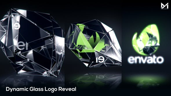 Thumbnail for Glass Logo Reveal