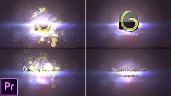 Thumbnail for Particles Quick Logo - Premiere Pro