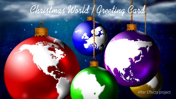 Thumbnail for Christmas World / Greeting Card