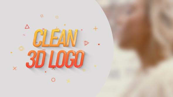 Thumbnail for Clean 3D Logo