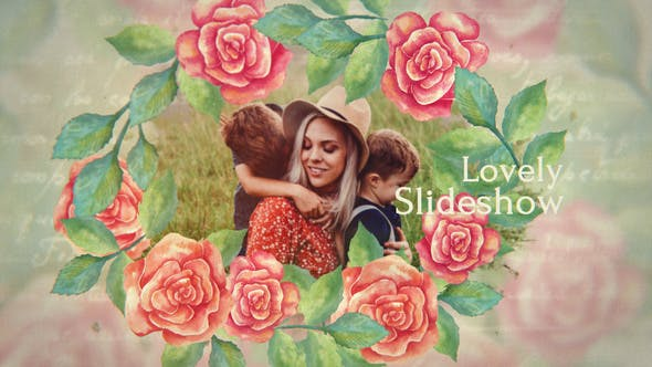 Thumbnail for Romantic & Flowers Slideshow
