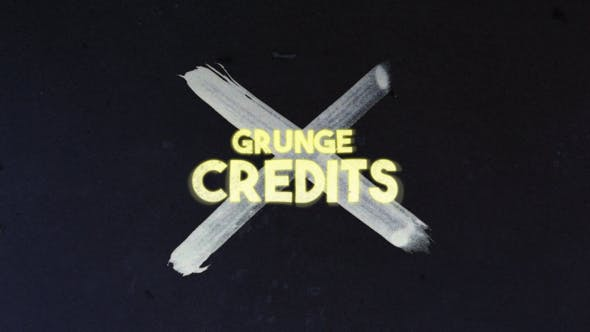 Thumbnail for Crédits Grunge