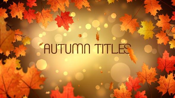 Thumbnail for Autumn Titles