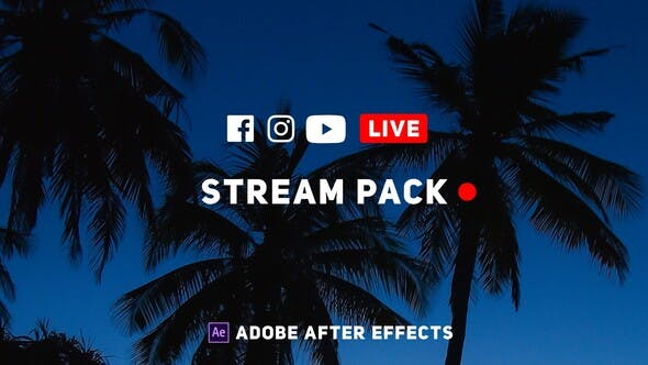 Thumbnail for Online Live Streaming Pack