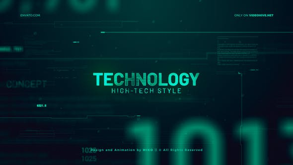 Thumbnail for High Technology Promo Slideshow
