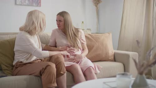 Pregnant Woman Going Into Labor
