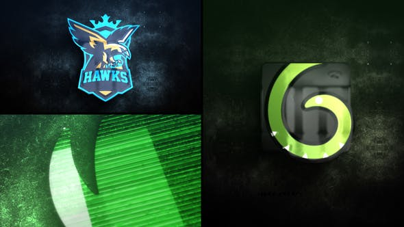 Thumbnail for Glitch Glow Logo Reveal