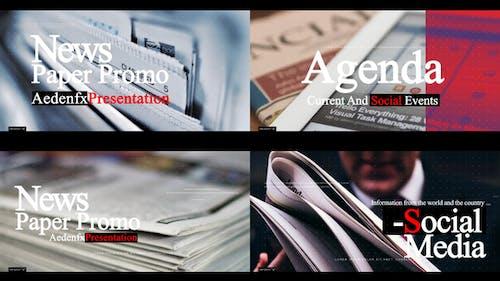 News Paper Promo