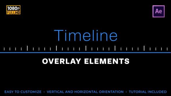 Elementos fáciles de la línea de tiempo
