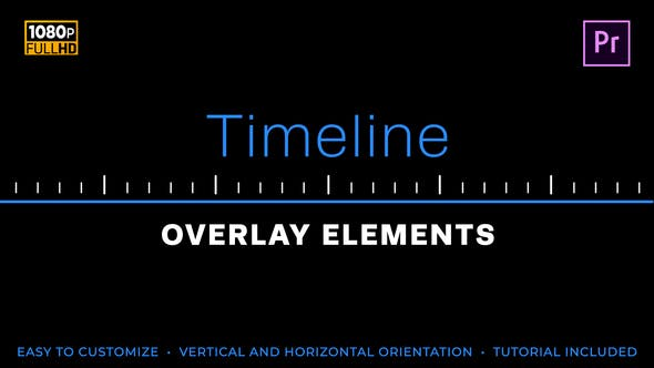 Thumbnail for Easy Timeline Elements | MOGRT for Premiere Pro