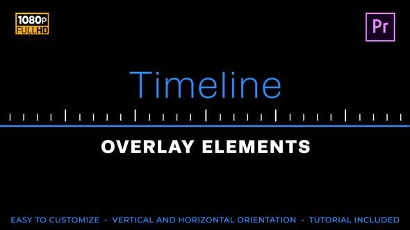 Elementos sencillos de la línea de tiempo | MOGRT for Premiere Pro