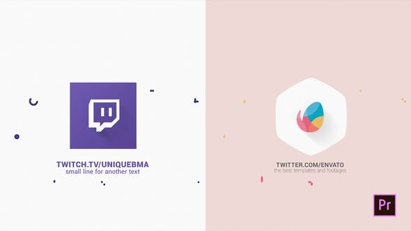 Flat Logo Intro