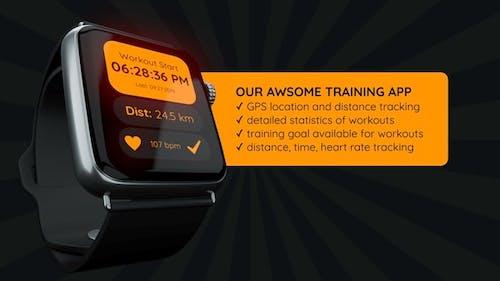 Презентация Приложение Smart Watch для Final Cut Pro X