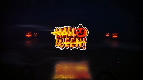 Thumbnail for Logo d'Halloween Glitch