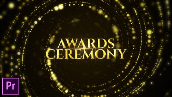 Cover Image for Awards Ceremony Opener - Premiere Pro