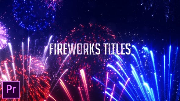 Thumbnail for Titres de feux d'artifice - Premiere Pro