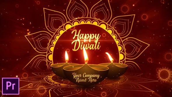 Diwali Festival Opener - Premiere Pro