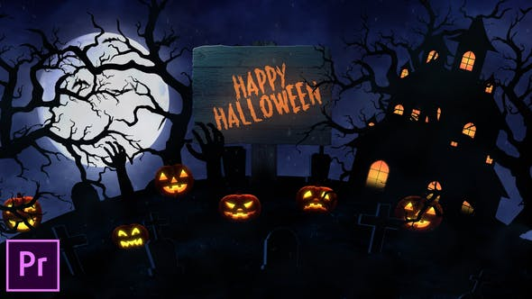 Cover Image for Halloween Opener - Premiere Pro