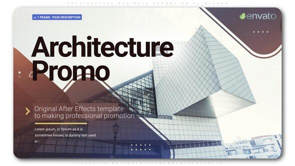 Thumbnail for Architecture Business Promotion Slideshow