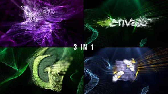 Thumbnail for Logo Formation Audio React