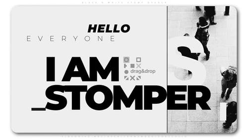 Black And White Stomp Opener