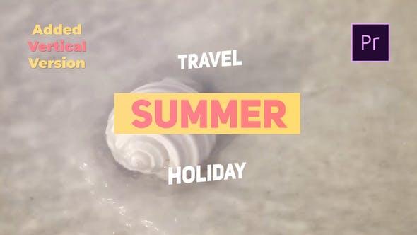Thumbnail for Summer Travel