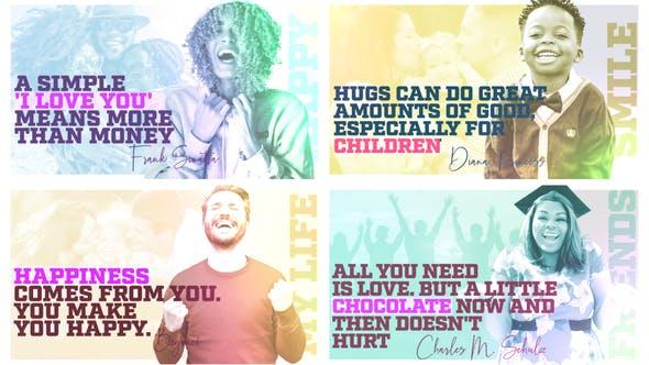 Happy People - Quote Slideshow