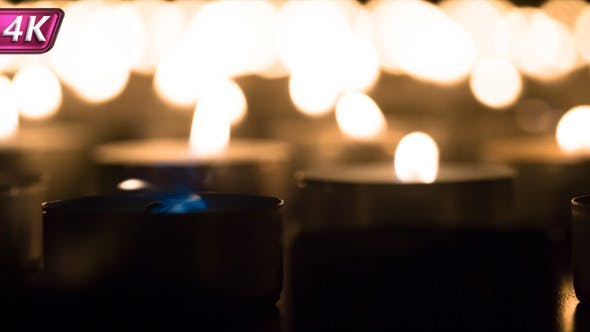 Fading Candles Fire
