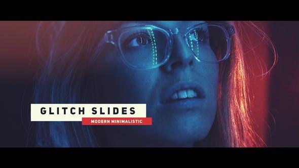 Dynamische Glitch Slideshow