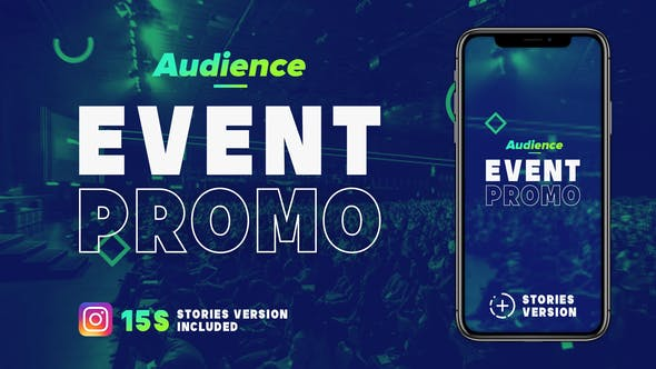 Thumbnail for Audience - Fast Paced Event Promo