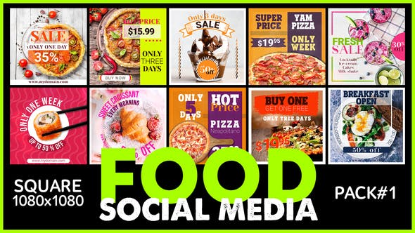 Thumbnail for Social Media - FOOD
